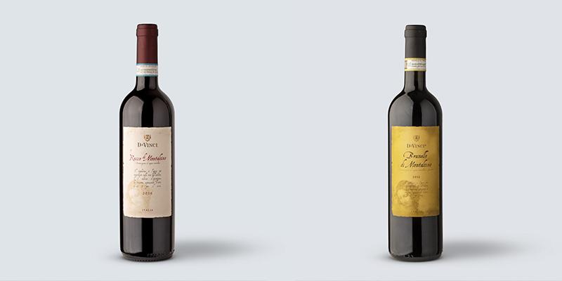 Confronto fra Rosso e Brunello di Montalcino