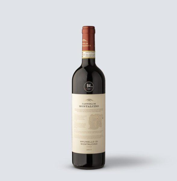 Brunello di Montalcino DOCG 2015 - Cantina di Montalcino